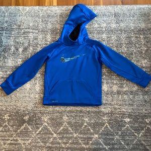 Like New Boy's Blue Nike Dri-Fit Sweatshirt 6